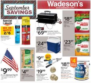 Our September Savings Sale Runs 9/4/20-9/27/20!