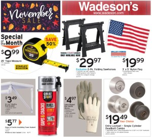 Our November Sales Flyer Going On From 10/30/20–11/18/20!