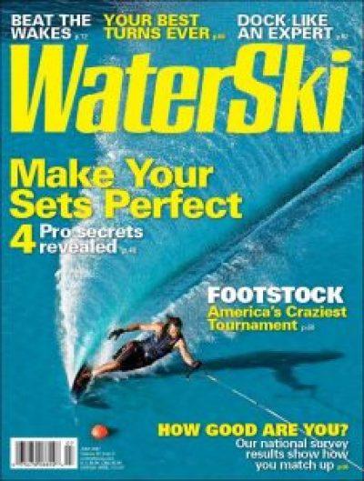 Wade Williams Water Ski Magazine July 2007