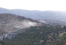 صورة اشتباك بين الجيش ومجموعة مسلحة سورية في وادي خالد