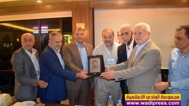 صورة رابطة أبناء بيروت تكرم العميد ابو عفش