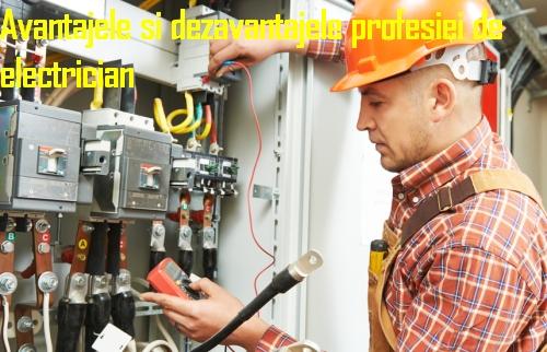 Avantajele si dezavantajele profesiei de electrician