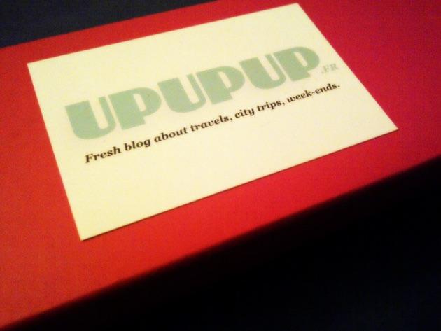 La petite surprise qui fait plaisir : la UpUpUp box Spéciale anniversaire