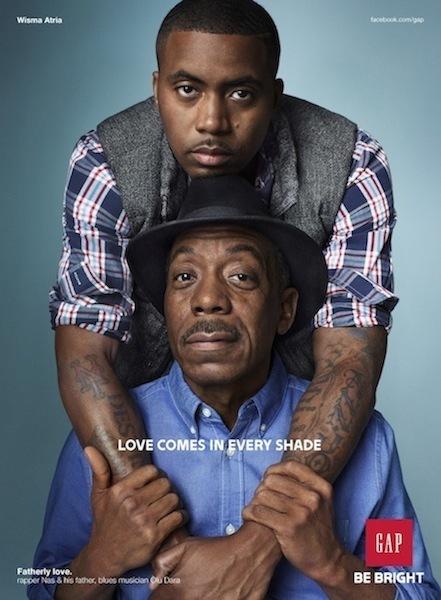 [Coup De Coeur] Fatherly Love : Nas et son père pour GAP