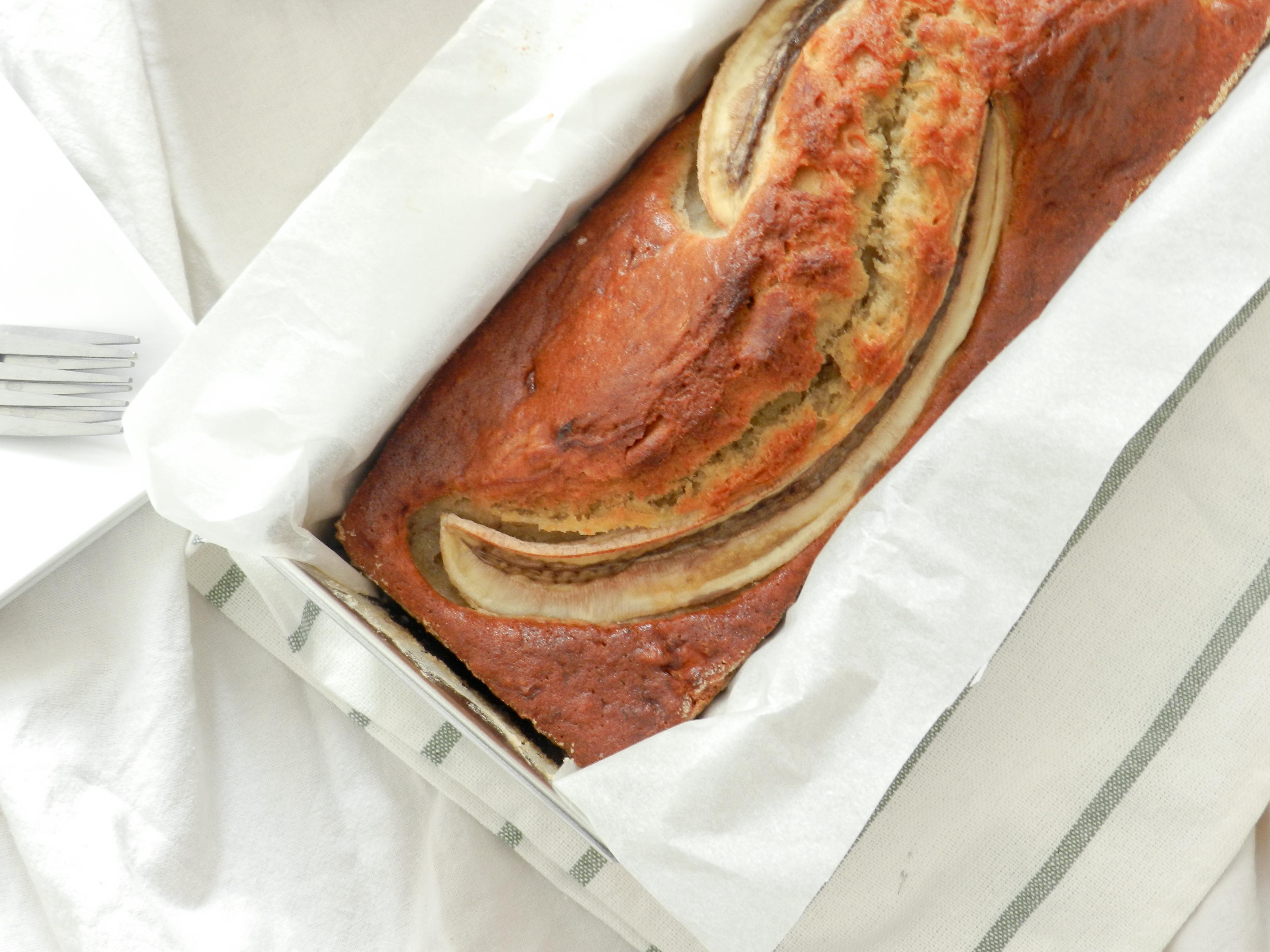 Banana bread à la vanille et au rhum - Wadji, Cooking mama