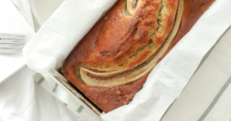 Banana bread à la vanille et au rhum