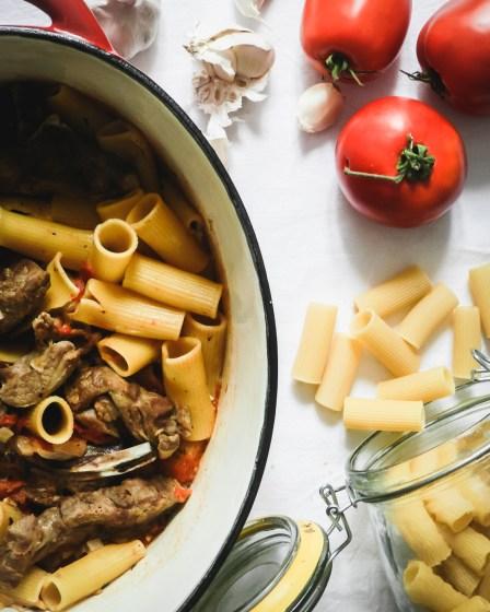 Rigatoni à l'agneau- Wadji, Cooking Mama