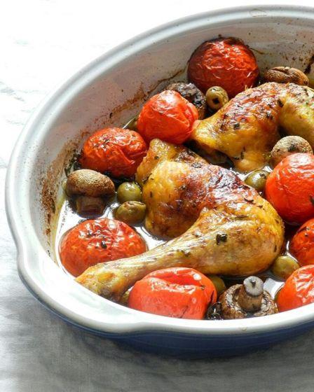 Poulet fermier à la provençale - Wadji, Cooking Mama