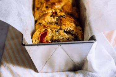 Cake aux courgettes, au thon et aux poivrons grillés - Wadji,Cooking Mama