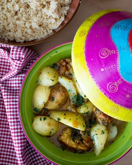 Tajine de poulet aux poires - Wadji,Cooking Mama