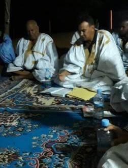 إجتماع سياسي هام  في واد الناقة بدعوة من الدكتور محمد عالي ولد زين(تقرير مصور)