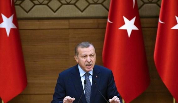 أردوغان يرحب بالضربات العسكرية على سوريا