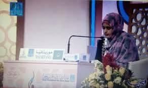 القارئة/ بلقيس عبد الله تفوز بالمركز الأول في مسابقة القرآن العالمية في ماليزيا