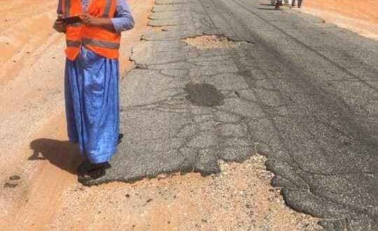 قرية الغشوات: وقفة ضد حوادث السير عقب الحادث الأليم(صورة)