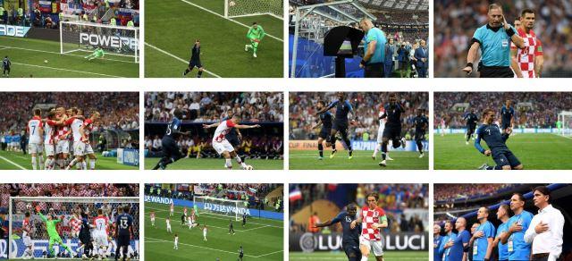 فرنسا بطلة العالم 4-2 لكرواتيا