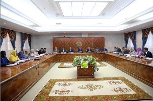 البيان الصادر عن الاجتماع الطارئ للحكومة الموريتانية