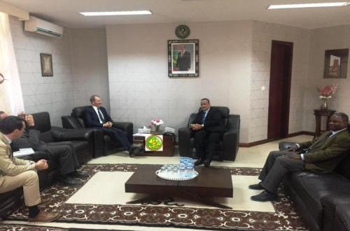 مساعد بالأمم المتحدة يلتقي وزير الخارجية بنواكشوط