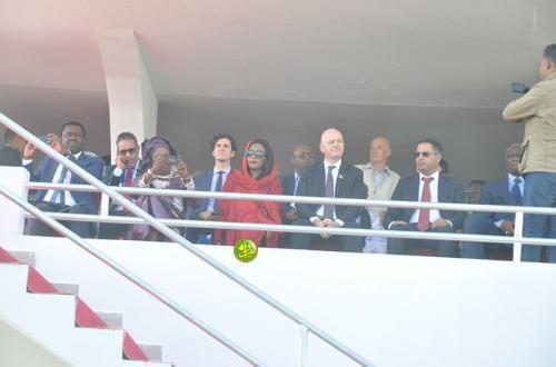 رئيس الفيفا يحضر تدشين ملعب العاصمة بنواكشوط