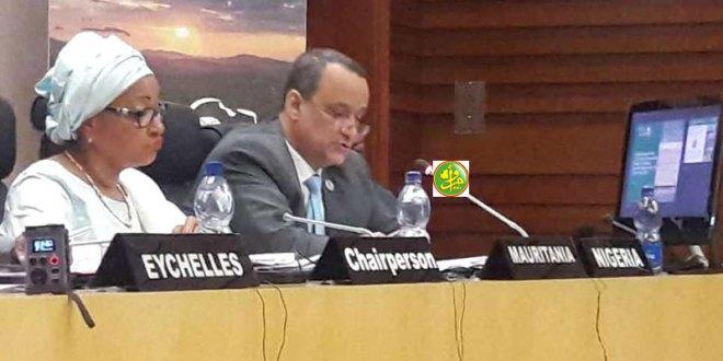ولد الشيخ أحمد يمثل الرئيس في اجتماع حول الفساد