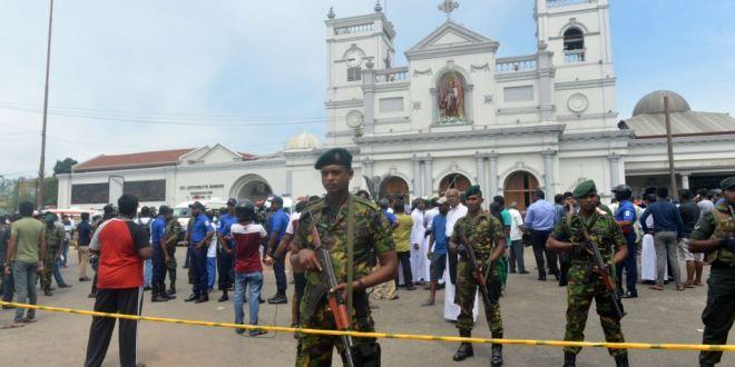 قرابة 700 ما بين قتيل وجريح إثر تفجيرات بسريلانكا