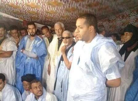 ولد سيد اشريف يجدد دعم غزواني ويطالب بإشراك الشباب
