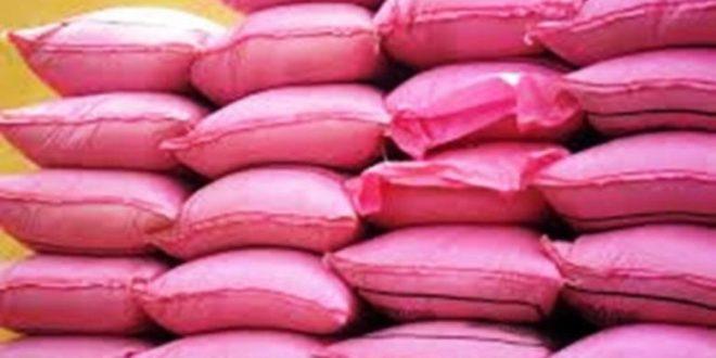 واد الناقة: إتلاف الأطنان من الأرز غير الصالح للاستعمال