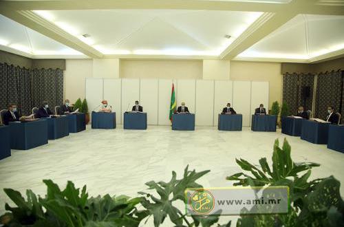 نتائج آخر اجتماع للحكومة الموريتانية في يونيو