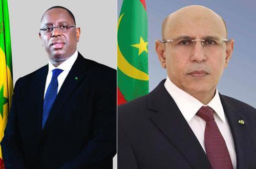 الرئيس غزواني يهاتف نظيره السنغالي للاطمئنان على صحته