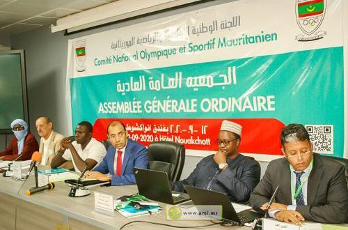 دورة جديدة للجنة الوطنية الأولمبية الموريتانية