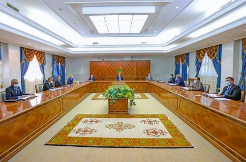 دورة جديدة للمجلس الأعلى للقضاء في موريتانيا