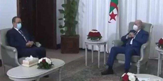 رسالة خطية من رئيس موريتانيا إلى نظيره الجزائري
