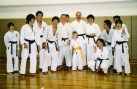 Students from Shikukai Chelmsford with Meiji University students.