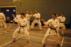 Students from Shikukai Chelmsford on the Winter Course.