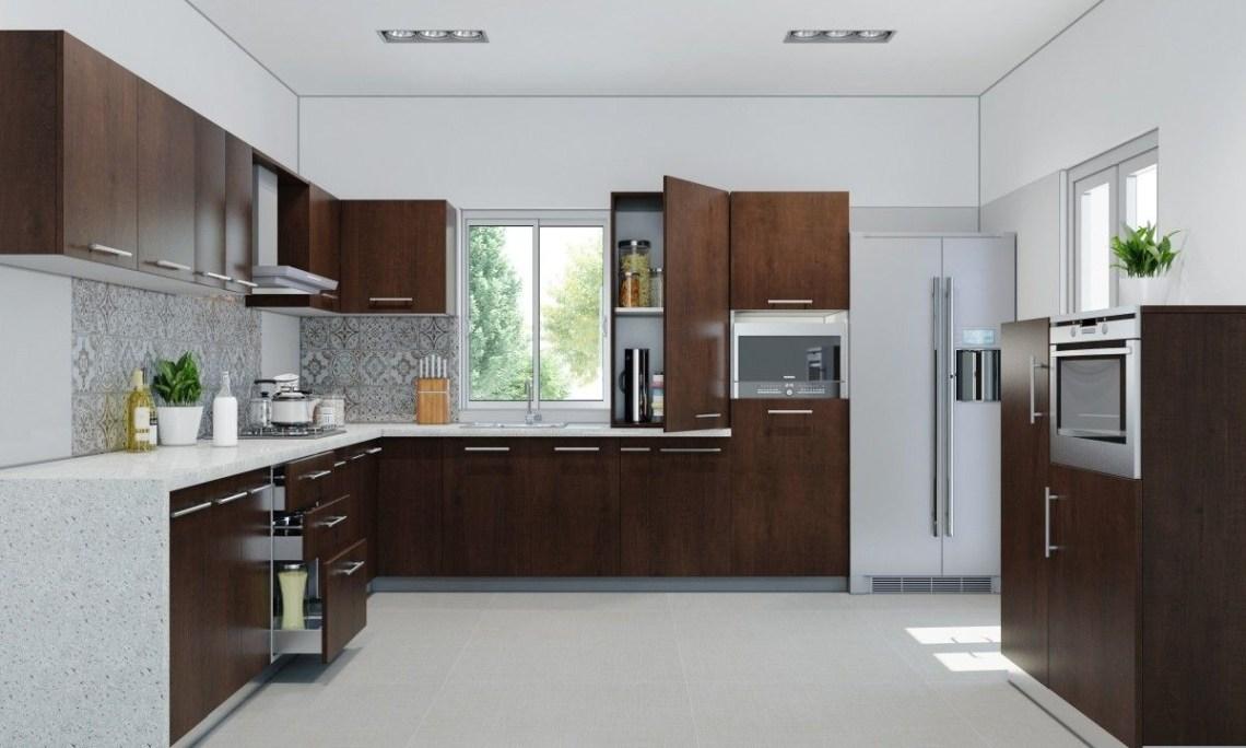 Modern Kitchen Cabinets Online In India - Kitchen and Bath