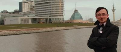 Klimahaus, Conference Center, SailCity Hotel und Mediterraneo von dem Willy-Brandt Platz