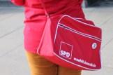 So sieht die Wahlkampftasche an meiner besten Freundin aus.