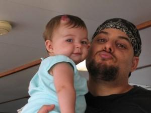 Wael and Salma 2007