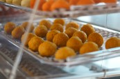 """Ladoo  at House of Bengal First fine food Bangladeshi restaurant in Toronto Canada. Their food is really amazing. The Biryani is out of this world and the daal is better than any place I've ever visited.  It is the best among all the South Asian """"Indian"""" restaurants."""