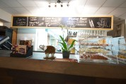 """Counter  at House of Bengal First fine food Bangladeshi restaurant in Toronto Canada. Their food is really amazing. The Biryani is out of this world and the daal is better than any place I've ever visited.  It is the best among all the South Asian """"Indian"""" restaurants."""
