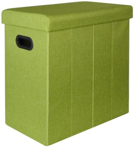 DuneDesign 16181 - Wäschesammler Grün