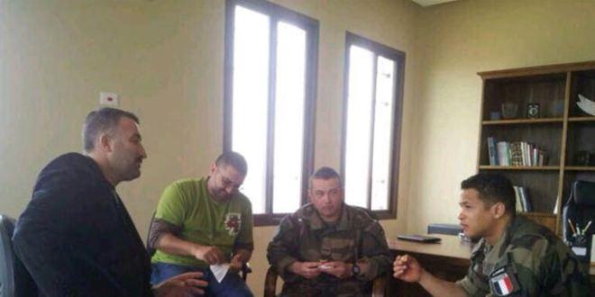هبة طبية من الجنود الفرنسيين في اليونيفيل الى بلدية شبعا