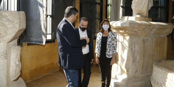 مرتضى من المتحف الوطني: من غير المسموح استغلال الكارثة والعبث بتاريخ بيروت