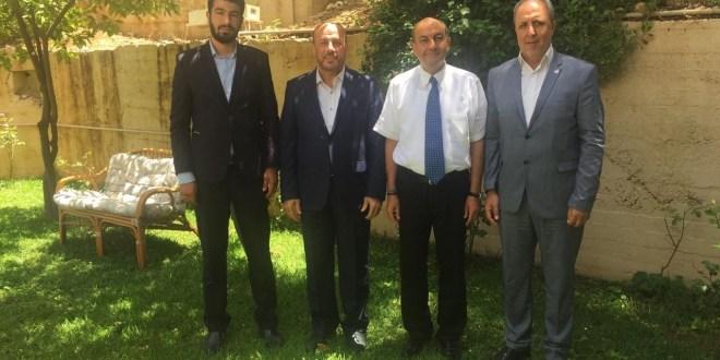 وفد من حماس عرض مع السفير التركي مستجدات القضية الفلسطينية