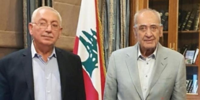 بري التقى النائب بهية الحريري وقنصل السيراليون في لبنان