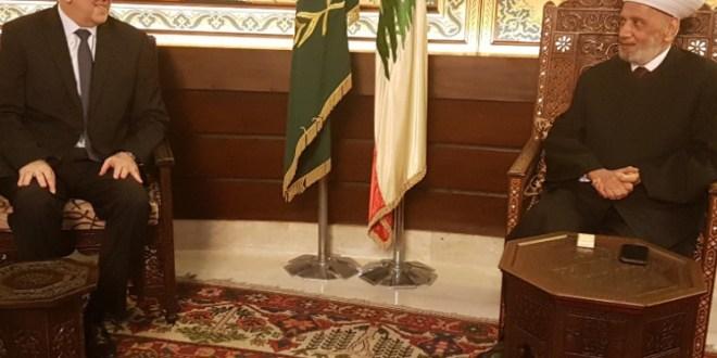 فهمي من دار الفتوى: نستبشر خيرا بالرئيس الحريري