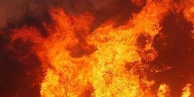 إخماد حريق في مجدلا