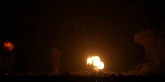 غارات جوية إسرائيلية على قطاع غزة ردا على إطلاق صواريخ