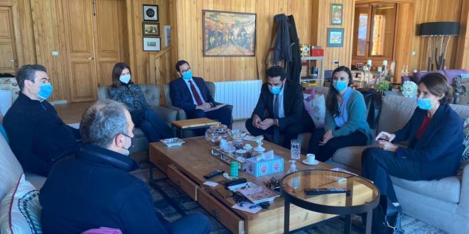 باسيل عرض مع سفيري فرنسا وتونس الاوضاع والعلاقات الثنائية