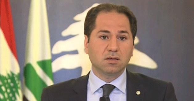 سامي الجميل: هناك مساران للحل الاول عربي ودولي والثاني داخلي