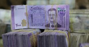 العملة السورية تهوي 99% لـ 4 آلاف ليرة مقابل الدولار